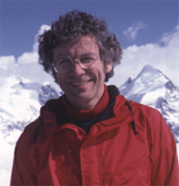 Donald Gudehus at Corvatsch